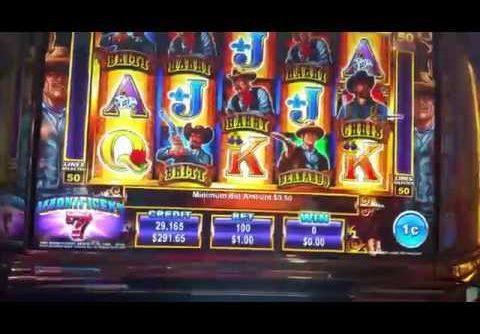 Big Win! Jackpot won,The Magnificent 7 slot machine at Parx casino