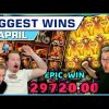 Top 10 Slot Wins of April 2021