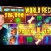 WORLD RECORD WIN on Dog House Megaways Slot ($25,000 BONUS BUY)