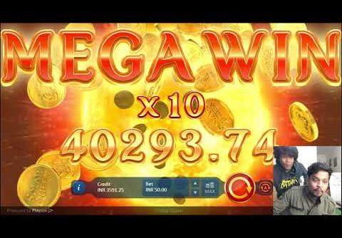 Rajbet – Slot Machine | Live Biggest Mega Win | Solar Queen | 50k win #shorts
