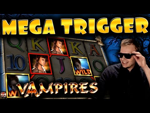 HUGE WIN And BONUS on Vampires!! – Merkur Slot!