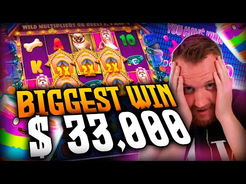 Streamer Big win 33.000€ on The Dog House Slot – Top 5 Biggest Wins of week