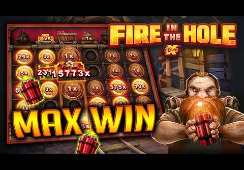 FIRE IN THE HOLE xBOMB 💎 60,000x MAX WIN!