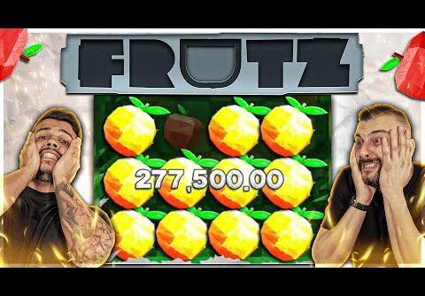 New Huge Win 277.000€ on FRUTZ Slot 🙀 Biggest Wins Of The Week 16