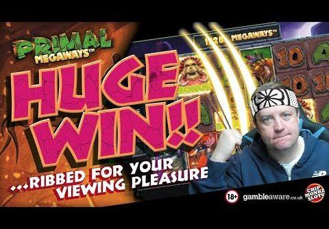 """Online Slots – Big win on Primal """"its broken"""""""