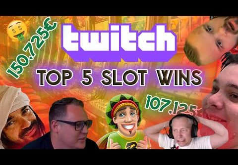 Top 5 BIGGEST Slot Wins on TWITCH 🤑 ROSHTEIN 🎩 ClassyBeef 🧔 Teufeurs & More