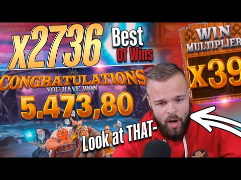 ClassyBeef Mega Win x2736  on The Viking Unleashed slot – TOP 5 Biggest wins of the week