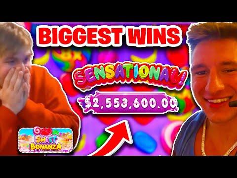 Sweet Bonanza Biggest Wins & World Records Compilation! (+$2,000,000)