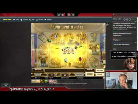 Mega BIG WIN – Pimped – Play'n go – Casino slot