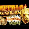 BUFFALO GOLD SLOT MACHINE 🔥 HUGE WIN!! THE CHASE CONTINUES