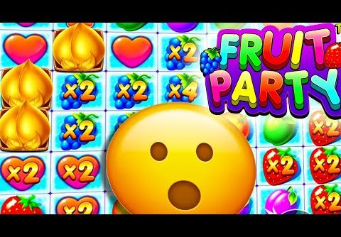 FRUIT PARTY 🍏 SLOT MEGA BIG WIN BONUS BUYS LIVE ROULETTE AND SECRET CLIP €40 BET MUST SEE 😱 OMG‼️