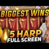 """TOP 5 BIGGEST WINS in """"Jack and the Beanstalk"""" Classic Slot 