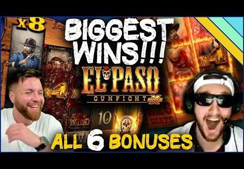 Biggest Wins on El Paso Gunfight – All 6 Bonuses!