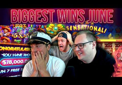 10 Biggest Slot Wins of June!