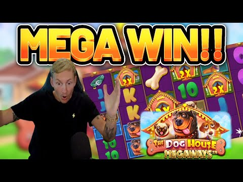 MEGA WIN!!!! DOG HOUSE 2 MEGAWAYS BIG WIN – EXCLUSIVE Casino Slot from Casinodaddy LIVE STREAM