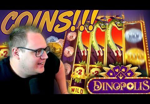 Dinopolis Slot HUGE WIN!