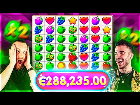 €280,000+ On Fruit Party Online Slot 😱 Biggest Wins Of The Week 10
