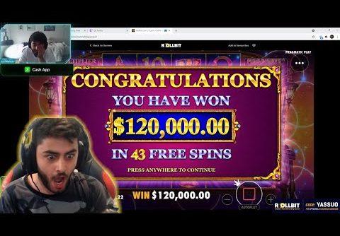 Moe   Yassuo getting max win 120.000 $   LIVE SLOTS