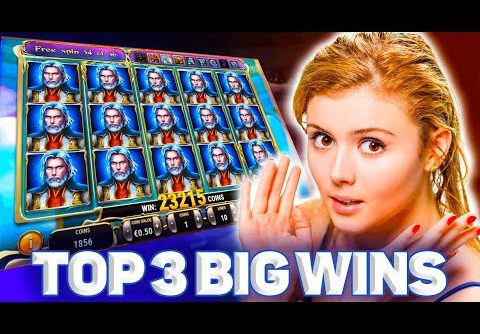Big Epic Win Compilation on Rise of Merlin Slot