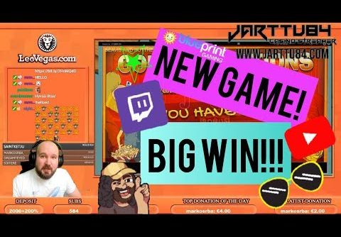 New Game!! Big Win From Beavis And Butt Head Slot!!