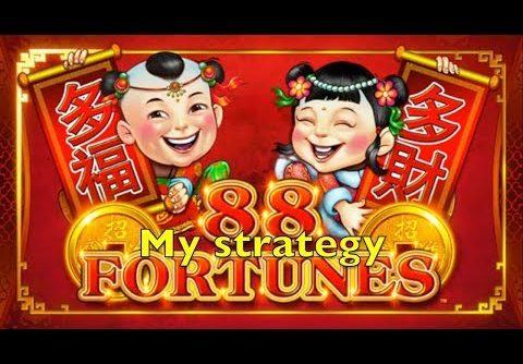88 FORTUNES Slot Machine Mini & Minor Jackpot Bonus & Big Win Bally Pokies Merkur 88 운 슬롯 머신