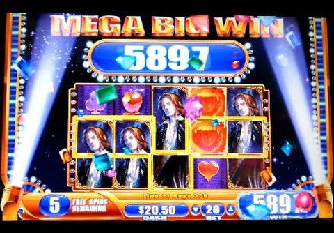 Vampire's Embrace *MEGA BIG WIN* Nickels Denom WMS Slot Machine