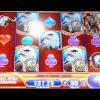 SUPER BIG WIN! Great Eagle Returns Bonus WMS Slot Machine