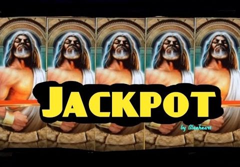 **JACKPOT HANDPAY** KRONOS slot machine FULL SCREEN JACKPOT HANDPAY WIN!