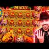ROSHTEIN Insane Win 100.000€ on new slot  The Hand of Midas – TOP 5 Mega wins of the week