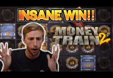 INSANE WIN! MONEY TRAIN 2 BIG WIN – CASINO Slot from CasinoDaddys LIVE STREAM
