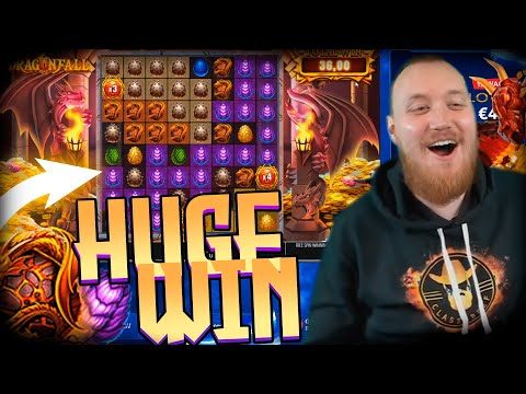 ClassyBeef Huge Win  on Dragon Fall slot – TOP 5 Biggest wins of the week