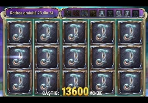 Rise of Merlin  Big Win   Play N Go Slot