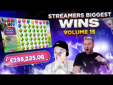 €288 235 MASSIVE WIN on Fruit Party slot – Streamers Biggest Wins – Volume 15