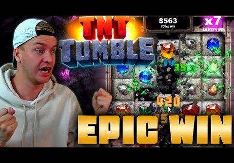 Big Win on TNT Tumble Slot!