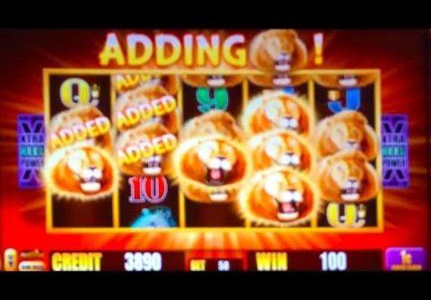 ++ NEW Aristocrat's Sunset King slot machine – Super Feature Bonus, Big Win