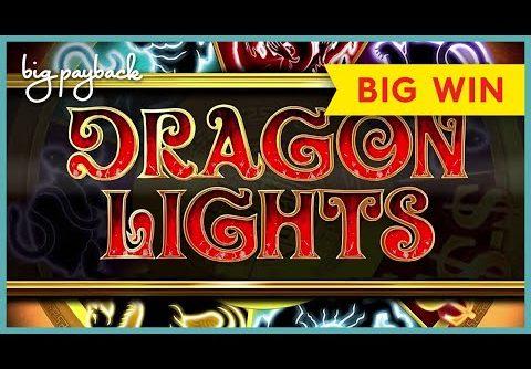 MEGA FREE GAMES! Dragon Lights Secret Fortress Slot – FIRST SPIN BONUS!
