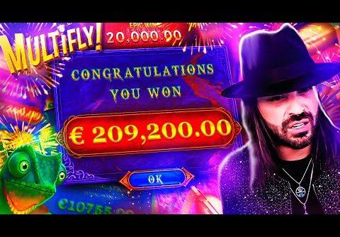 ROSHTEIN Insane Win 210.000€ on Rosh Immortality Cube Megaways Slot – TOP 5 Mega wins of the week