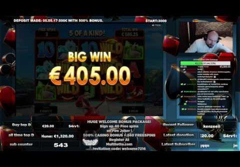 Super Big Win From Dragonz Slot!!!