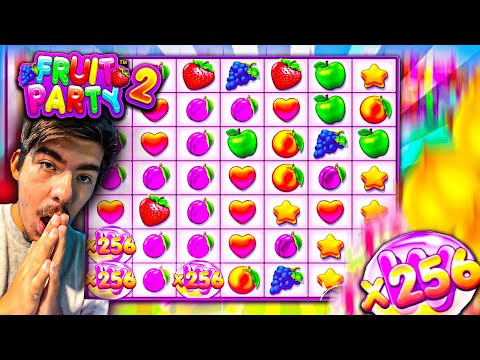 INSANE BIGGEST WIN EVER on NEW Fruit Party 2 SLOT!