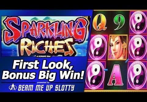 Sparkling Riches Slot – Free Spins, Big Win in New SIX-Reel Konami game