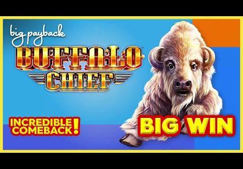 INSANE COMEBACK! Buffalo Chief Slot – HUGE WIN SESSION!