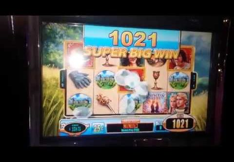 **SUPER BIG WIN!** Princess Bride Slot Machine – 25c DENOM