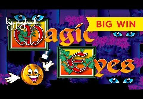 Mr. Cashman Magic Eyes Slot – BIG WIN SESSION, LOVED IT!