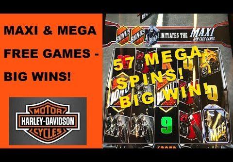 Big wins on Harley Davidson slot – Maxi and Mega free games
