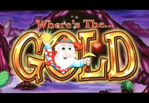 ++ WHERE's THE GOLD ++ Slot Machine 6x Bonus COIN SHOW (s) & BIG WIN (s) – ENJOY !!! 슬롯 머신