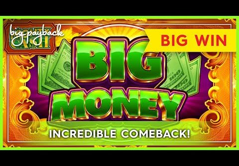 INCREDIBLE COMEBACK! Mighty Cash Big Money Gold Slot – HUGE WIN!