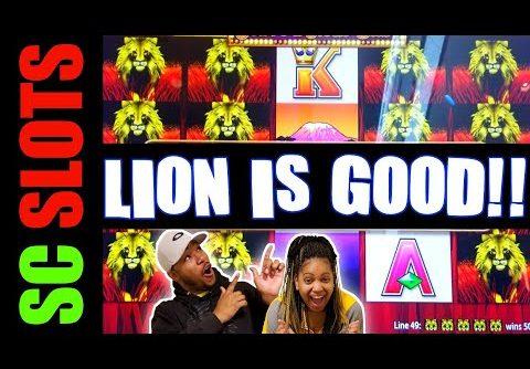 Who Said LION Is Bad??? 100 LIONS Slot Machine BIG WIN Session