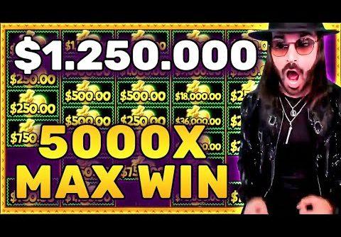 $1.250.000 CHILLI HEAT MEGAWAYS MAX WIN   NEW GAME RELEASE!