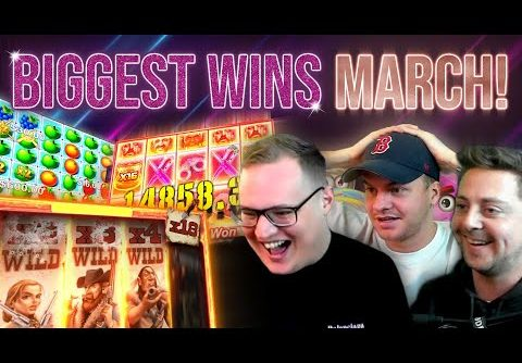 Top 10 Biggest Slot / Live Casino Wins of March!