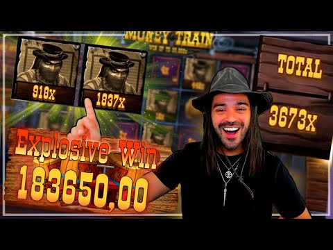 ROSHTEIN RECORD WIN 183000€ IN MONEY TRAIN SLOT  Top 3 Wins of the Week in online casino